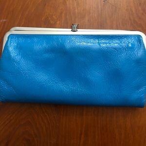 Hobo LAUREN turquoise clutch wallet